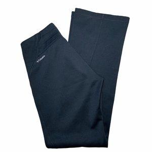 Columbia Fleece Lined Omni Wick Black Bootcut Pant